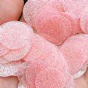 Sequins, pink, 29mm, 21 pieces, 5g, Round shape, Sequins are shiny, [CZP676]